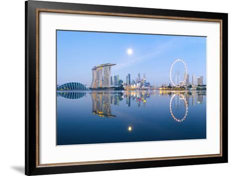 Morning Blues-Hak Liang Goh-Framed Art Print