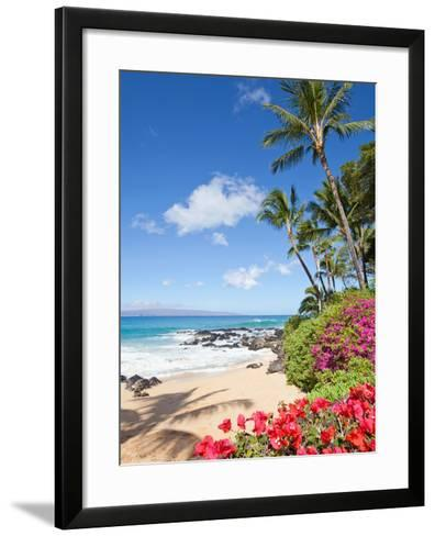 Tropical Beach-M Swiet Productions-Framed Art Print