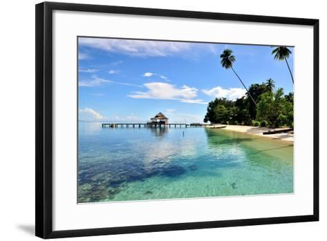 Ora Beach Moluccas Indonesia-Barry Kusuma-Framed Art Print