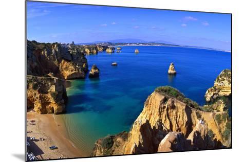 Praia Da Dona Ana, Algarve, Portugal-Hans Peter Merten-Mounted Photographic Print