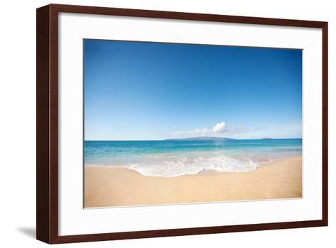 Beach-M Swiet Productions-Framed Art Print