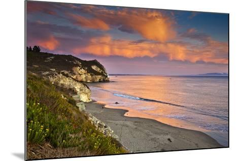 Avila Beach at Sunset-Mimi Ditchie Photography-Mounted Photographic Print