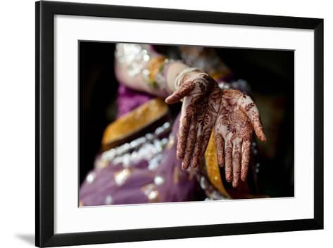 Tradition of Mehndi / Henna-Sara Farid-Framed Art Print