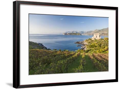 Carpino Bay, Scalea, Calabria, Italy-Peter Adams-Framed Art Print