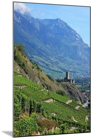 Switzerland, Rhone Valley-Hiroshi Higuchi-Mounted Photographic Print
