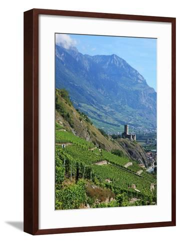 Switzerland, Rhone Valley-Hiroshi Higuchi-Framed Art Print