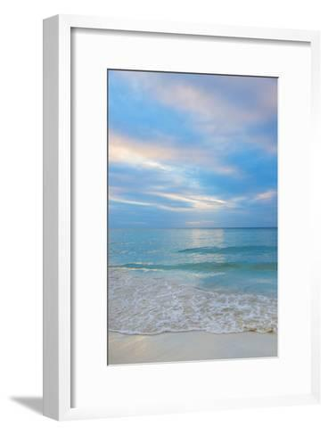 Jamaica, Seascape at Sunset-Tetra Images-Framed Art Print
