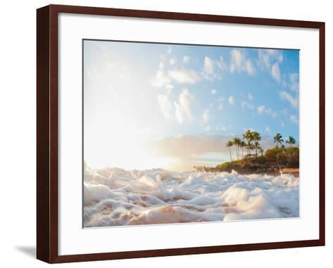 Sunset at Poolenapena-M Swiet Productions-Framed Art Print