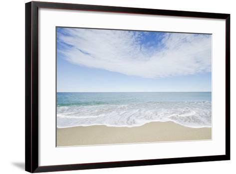 Empty Beach, Nantucket-Nine OK-Framed Art Print