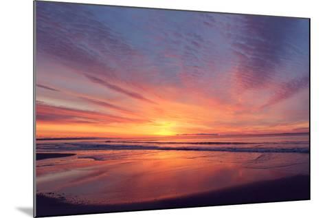 East Beach Sunrise-Zachary Turner Photography-Mounted Photographic Print