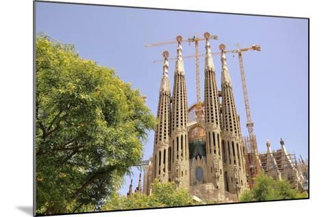 Barcelona, Sagrada Familia-Stefano Salvetti-Mounted Photographic Print