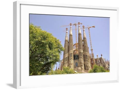Barcelona, Sagrada Familia-Stefano Salvetti-Framed Art Print