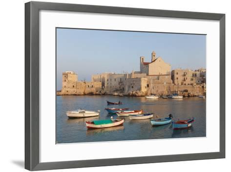 Harbour, Giovinazzo, Puglia, Italy-Peter Adams-Framed Art Print