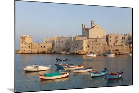 Harbour, Giovinazzo, Puglia, Italy-Peter Adams-Mounted Photographic Print