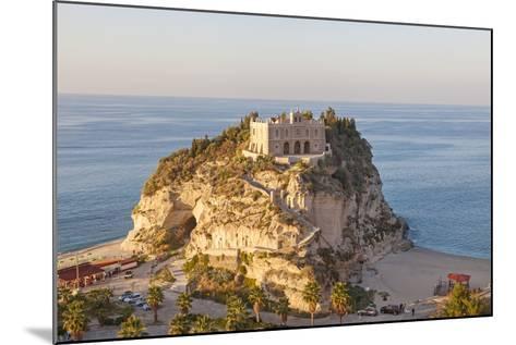 Santa Maria Del Isola Monastery, Tropea, Calabria-Peter Adams-Mounted Photographic Print