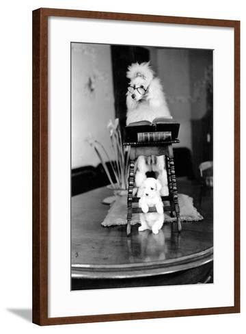 Two Poodles-Carl Sutton-Framed Art Print