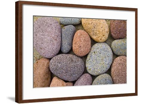 Beach Stone Collection-Hiroyuki Uchiyama-Framed Art Print