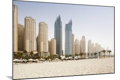 Jumeirah Beach at Sunset-Jorg Greuel-Mounted Photographic Print