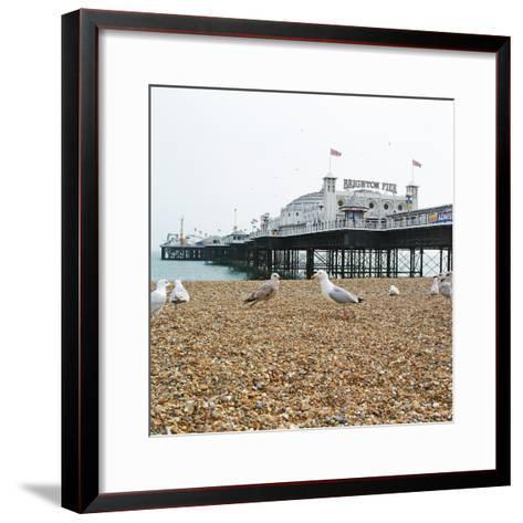 Brighton Pier-Richard Newstead-Framed Art Print