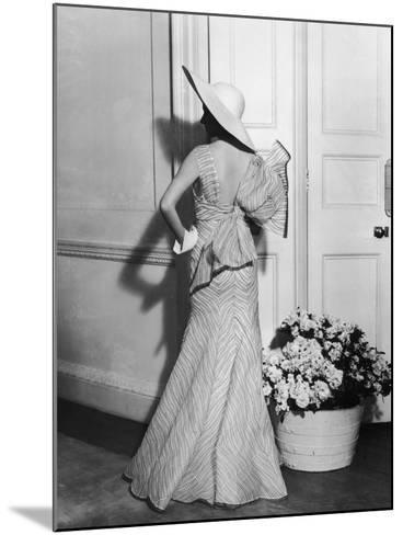 Back Fashion-Sasha-Mounted Photographic Print