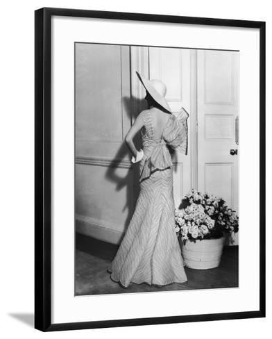 Back Fashion-Sasha-Framed Art Print