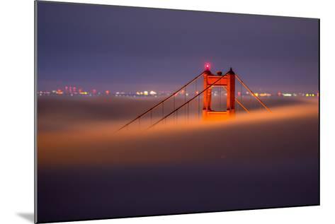 Golden Periscope - Golden Gate Bridge, San Francisco-Vincent James-Mounted Photographic Print