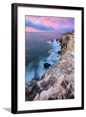 South Island Morning Seascape, Kauai, Poipu, Hawaii Islands-Vincent James-Framed Art Print