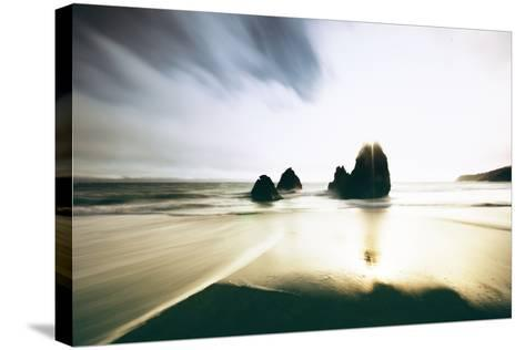 Dynamic Beach Light, Rodeo Beach Marin Headlands, Bay Area-Vincent James-Stretched Canvas Print