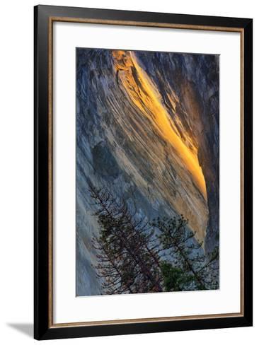 Firefall Abstract, Horsetail Falls, Yosemite National Park-Vincent James-Framed Art Print