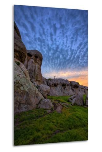 Cloud Design at Dillon Beach, Marin, Bay Area, California Coast-Vincent James-Metal Print