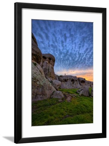 Cloud Design at Dillon Beach, Marin, Bay Area, California Coast-Vincent James-Framed Art Print