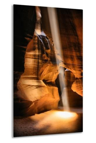 Beneath The Earth, Antelope Canyon, Southwest US, Page, Arizona, Navajo-Vincent James-Metal Print