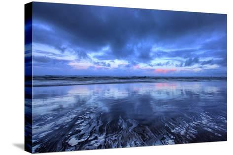 Early Morning Beach Design, Cannon Beach, Oregon Coast-Vincent James-Stretched Canvas Print
