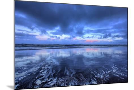 Early Morning Beach Design, Cannon Beach, Oregon Coast-Vincent James-Mounted Photographic Print