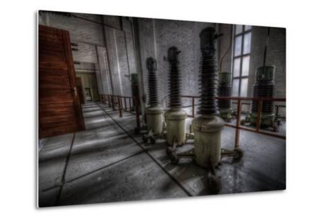 Haunted Interior-Nathan Wright-Metal Print