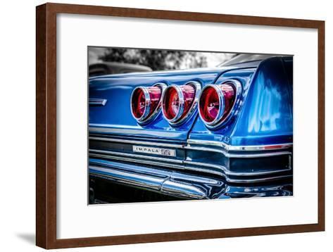 Classic American Automobile-David Challinor-Framed Art Print