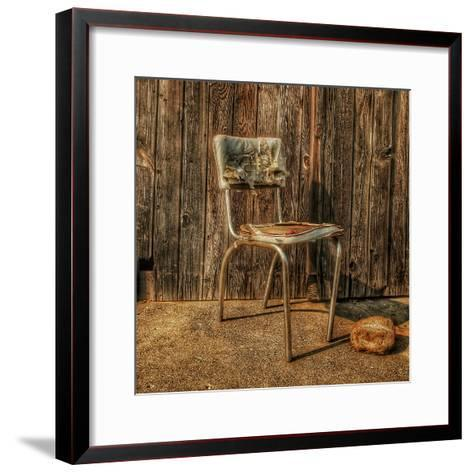Abandoned Chair-Florian Raymann-Framed Art Print