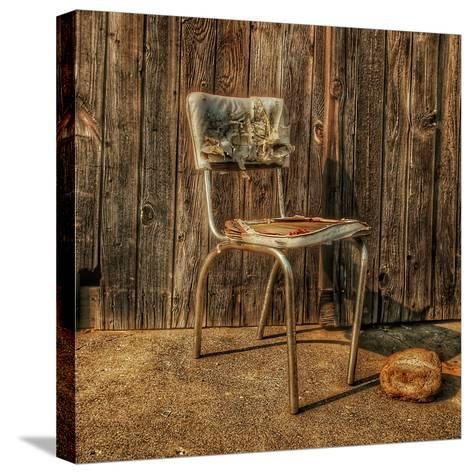 Abandoned Chair-Florian Raymann-Stretched Canvas Print