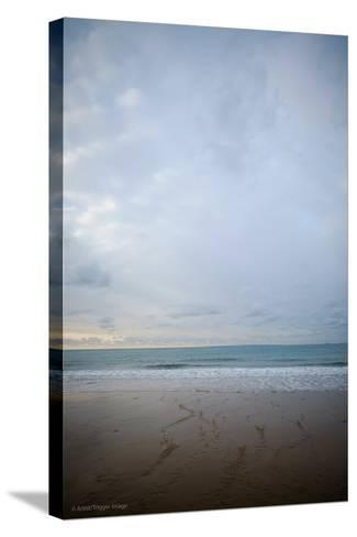 Coastal Scenery in England-David Baker-Stretched Canvas Print
