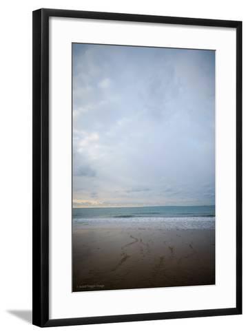 Coastal Scenery in England-David Baker-Framed Art Print
