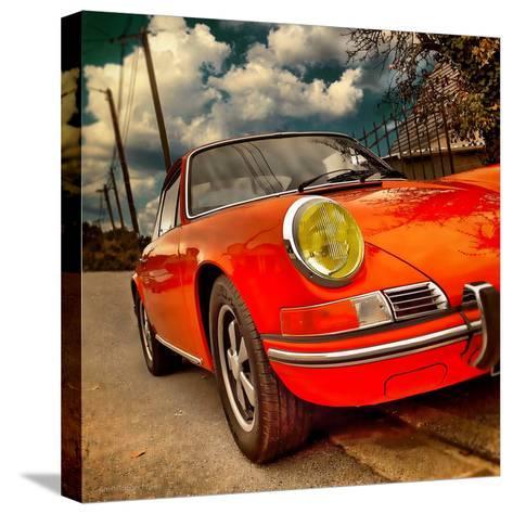Retro Americana Car-Salvatore Elia-Stretched Canvas Print
