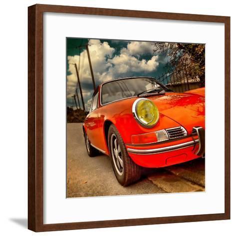 Retro Americana Car-Salvatore Elia-Framed Art Print