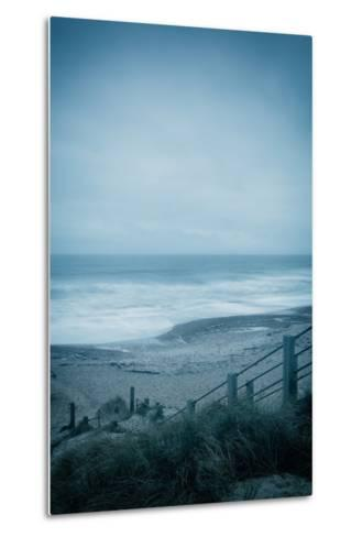 Winter Seascape-David Baker-Metal Print