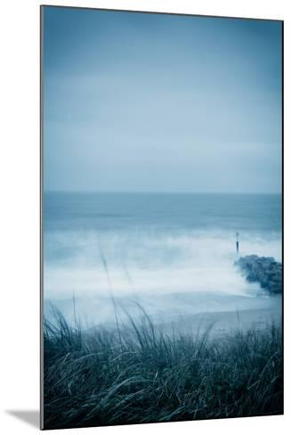 Winter Seascape-David Baker-Mounted Photographic Print