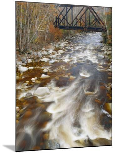 Trestle over the Saco River. White Mountains, New Hampshire-Gustav W. Verderber-Mounted Photographic Print