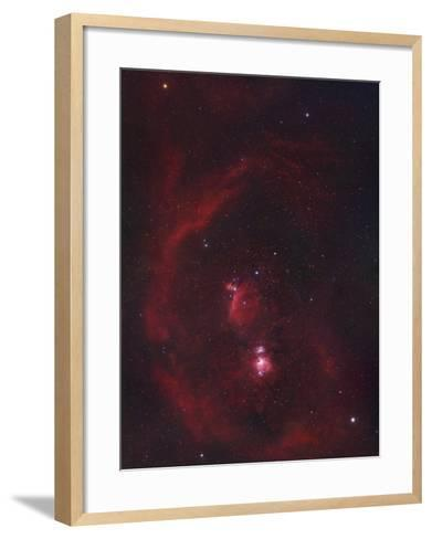 The Constellation Orion or the Hunter and its Nebulosity-Robert Gendler-Framed Art Print