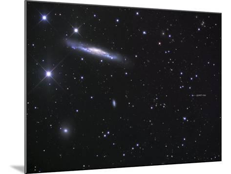 Ngc 3079 and the Lensed Quasar-Robert Gendler-Mounted Photographic Print