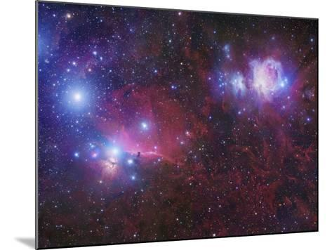 The Orion Deepfield Region, Showing the Orion Molecular Cloud and the Orion Ob1 Association-Robert Gendler-Mounted Photographic Print