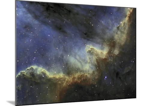 Ngc 7000, the North American Nebula or Cygnus Wall, Emission Line Mapping-Matthew Russell-Mounted Photographic Print