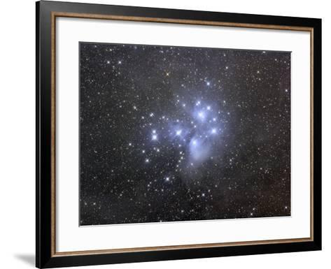 M45, the Seven Sisters or Pleiades-Matthew Russell-Framed Art Print